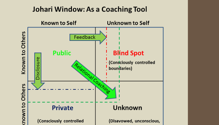 johari window essay example Johari window my level of openness is definitely something i need to work on if i wish to succeed as a nurse i have come to this conclusion by reading the johari window article which has made me think more in depth about the person i am and how it affects others perception of me.